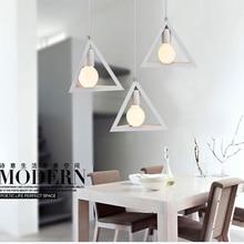 Modern nordic design minimalist pendant light creative lron LED hanging light kitchen dinner room cafe room meal bar lamp e27 цена