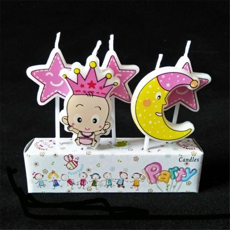 5pcsset Disney Mickey Minnie Mouse Winnie The Pooh Princess Donald
