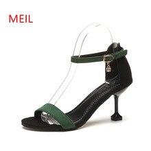 купить High Heels Sandals Calzado Mujer 2018 Summer Women Shoes Chaussures Femme Peep Toe Dames Schoenen Scarpe Donna Heel Woman Sandal по цене 1393.18 рублей