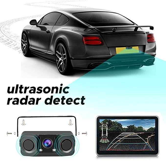 lowest price DIYSECUR Wholesale 4pcs Assistance Reversing Radar Rrobe Parking Sensors Black Blue Gray Red White Silver Green Yellow