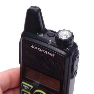 Image 5 - Gorąca sprzedaż Mini ultra cienki mini przedni BF T1 walkie talkie UHF 400 470MHz nadajnik FM dla hotelu odkryty cywilny