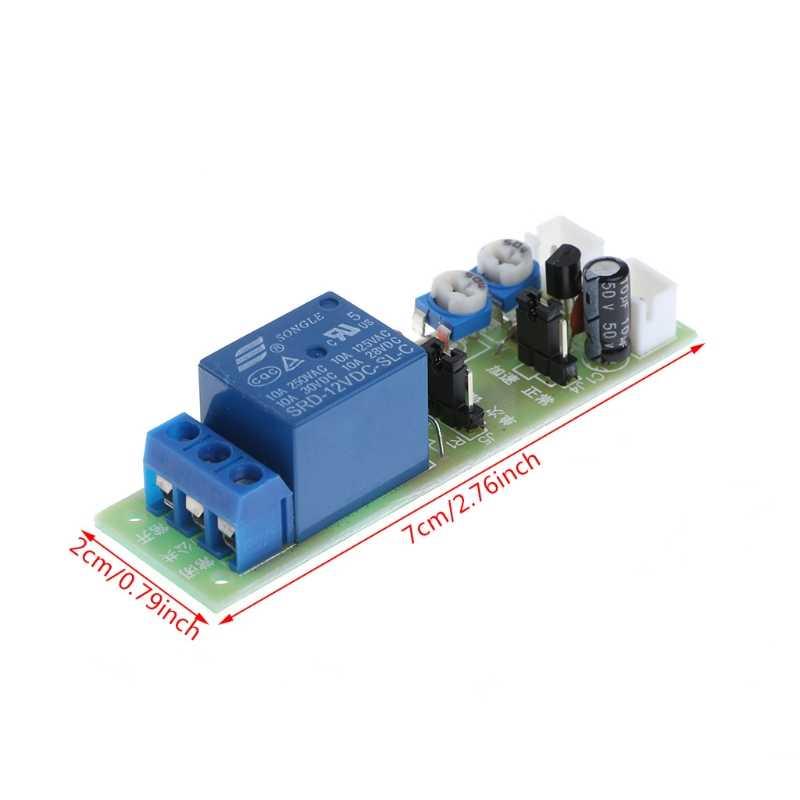 2018 12V DC 無限サイクル遅延タイミングタイマー OFF ON スイッチループモジュールトリガー OCT25_40