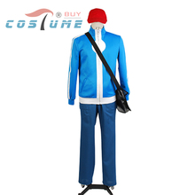 Pokemon Go X and Y Calem Uniform Jacket Hoodie Pants Outfit Cartoon Anime Halloween Cosplay Costume For Men Women Custom Made