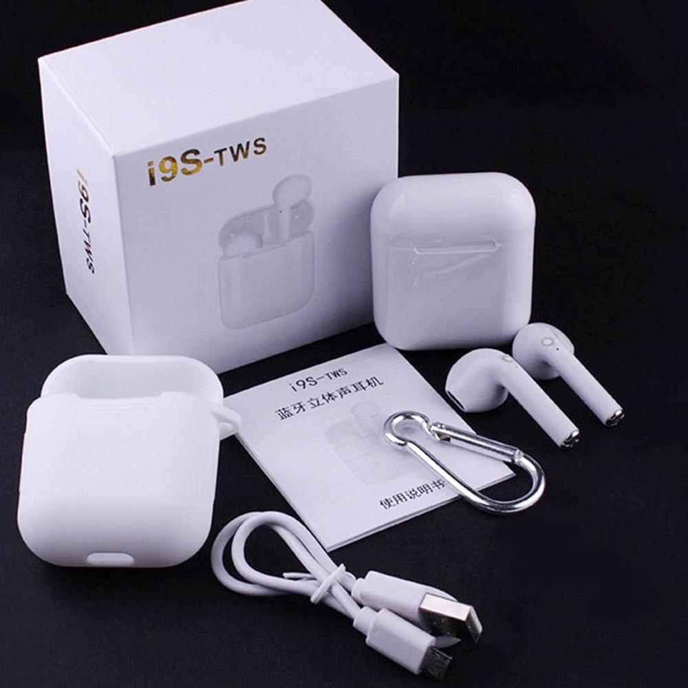 I9S TWS Auriculares inalámbricos Bluetooth 5,0 Auriculares inalámbricos Bluetooth para xiaomi Smart phone USB