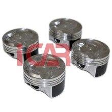 4 шт./лот новые высококачественные поршни OEM: 13010-R40-A00/13010-R40-A10 для Honda Accord 2008-2012 2.4L