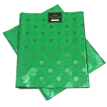 Nigerian gele headtie african SEGO HEADTIE 2pcs/set High Quality used for party Free shipping NIGERIA GREEN SL-1554