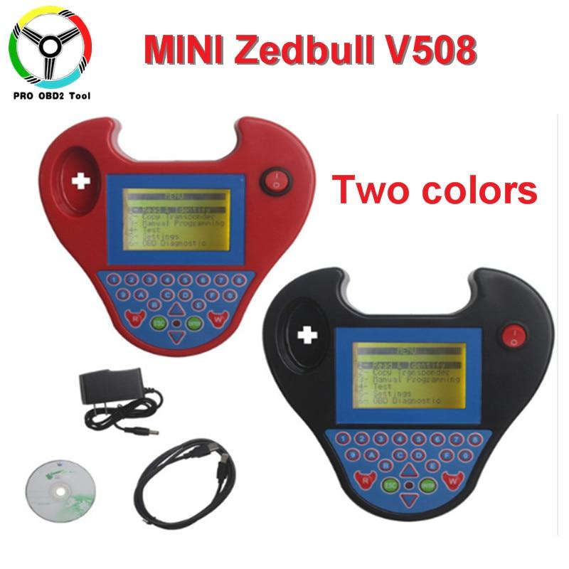 Nieuw Smart mini Zed Bull Auto Programmeur Kleine Zed-Stier Transponder Sleutel MINI ZEDBULL Multi-language diagnostic tool gratis schip