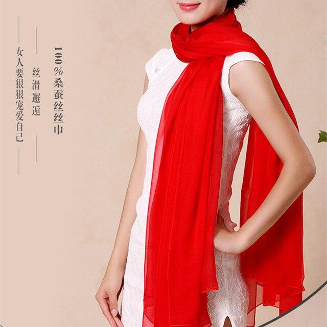 New Winter Scarf Women 2016 Shawls And Scarves Fashion Women Chiffon Silk Scarf Autumn Shawl 195*65cm