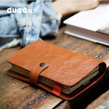 US $16.38 8% OFF|2018 Yiwi  Duga A6 New Arrive Original Soft Faux Leather Spiral Binder Hardcover Organizer Planner Cover-in Notebooks from Office & School Supplies on Aliexpress.com | Alibaba Group