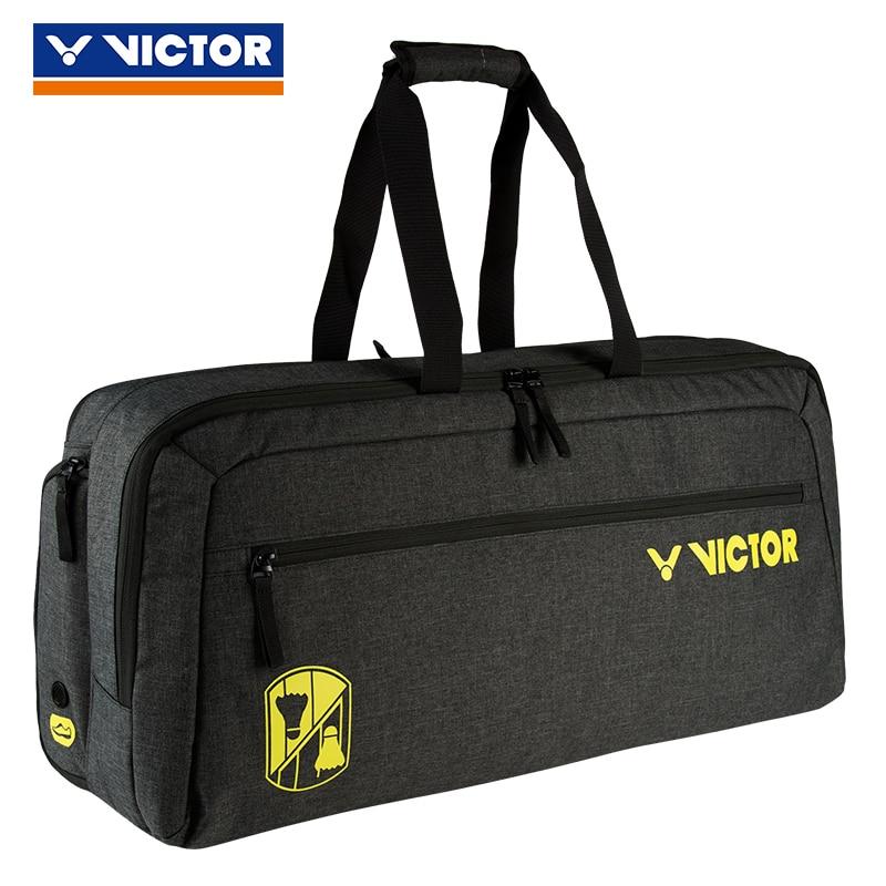 Bright 2019 Victor Vibrant Badminton Tennis Bag Handbag Sport Bags Gym Bag For Men Women Br3612