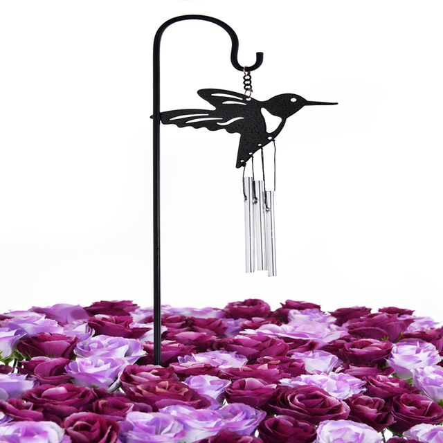 Wedding Decoration Hot Selling New Metal Hummingbird Garden Stake For Gift  Decor