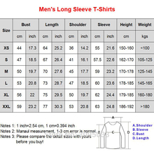 Cowboy Bebop See you in Space T Shirt Male Hip Hop T Shirts Round Collar Men Big Size T-Shirts Popular Men's Long Sleeve Clothes