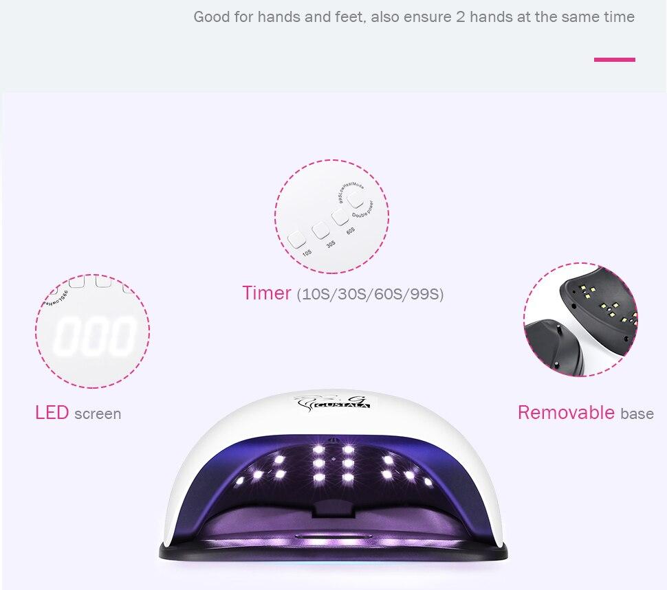 W 36 Luzes LED Auto Sensing LED
