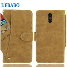 Vintage Leather Wallet Prestigio Muze E7 LTE Case 5.5 Flip Luxury 3 Front Card Slots Cover Magnet Stand Phone Protective Bags