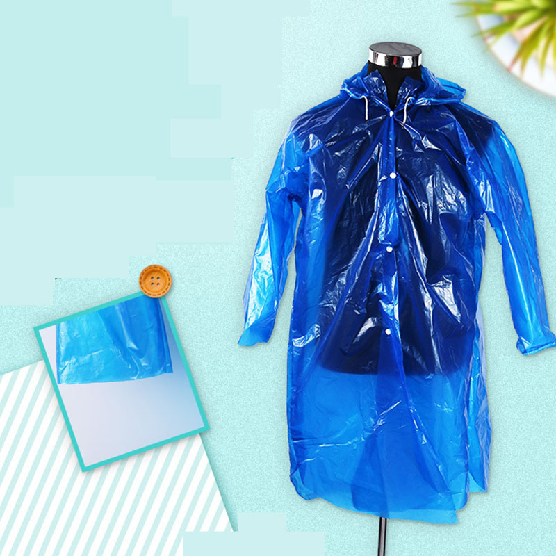 Emergency Rain Coat Raincoat Poncho Outdoor Camping Travel Hiking