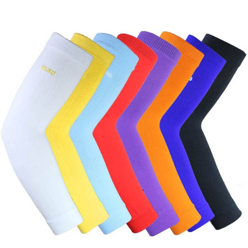 Protector Sport Elastic Compression Elbow Cuff Support Arm Cuff Breathable Football Safety Sports Elbow Protector