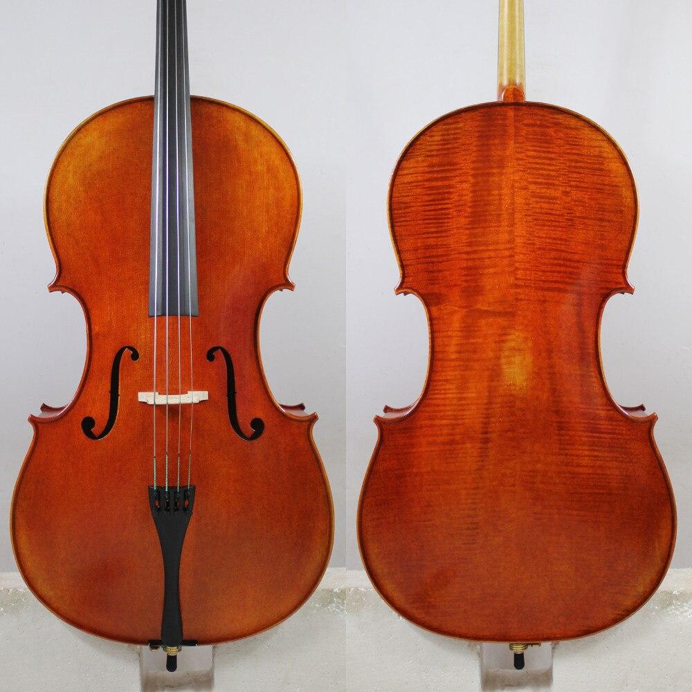 Copia de Antonio Stradivari 4/4 Violonchelo de madera europea mejor modelo