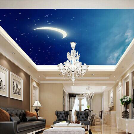 Popular stars nebula buy cheap stars nebula lots from for Ceiling mural in a smoker s lounge