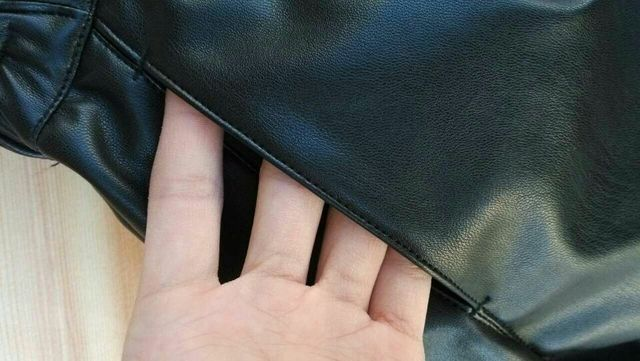 2020 New Summer Women Elastic Waist PU leather Black Shorts Female Celebrity same Loose Fashion Women Casual Shorts