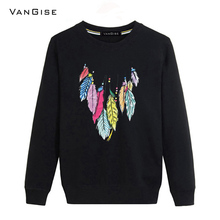 VanGise 2017 New Autumn winter hoodies men brand clothing fashion sweatshirt men's O-neck long sleeve male hoodies tracksuit tee
