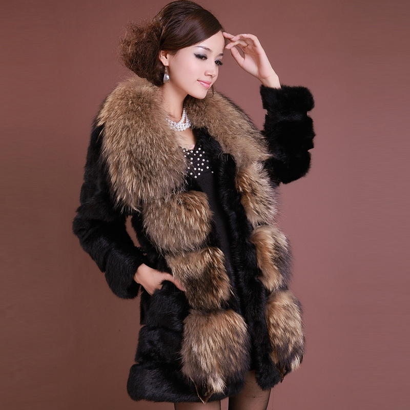 Online Get Cheap Long Rabbit Fur Coat -Aliexpress.com | Alibaba Group