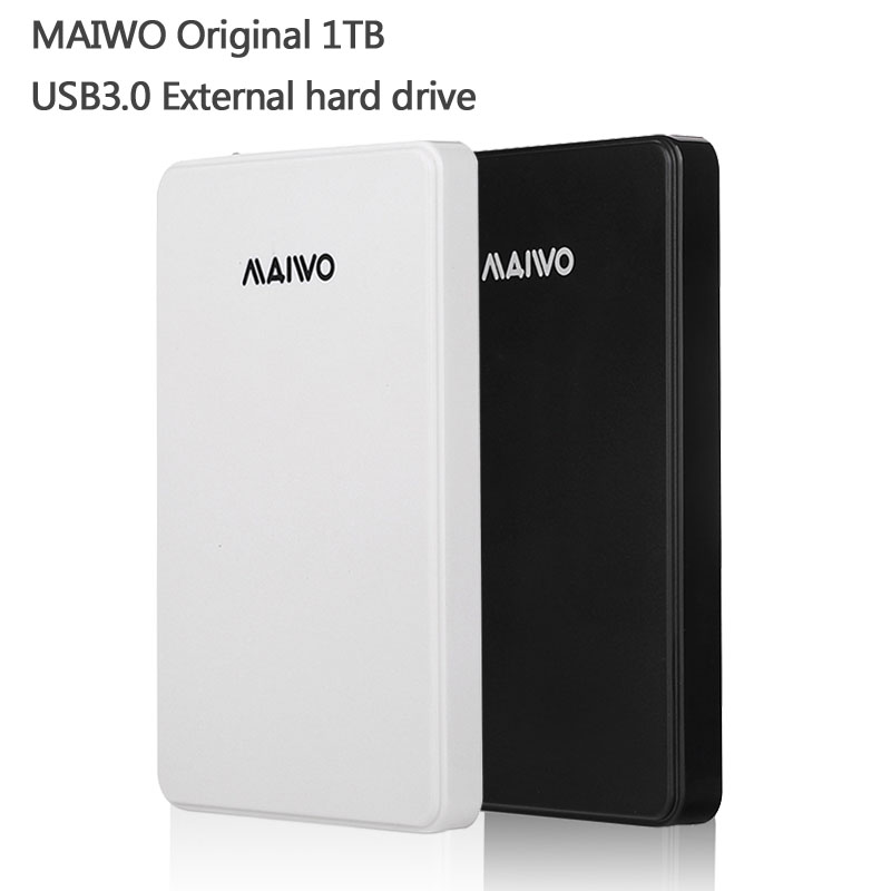 Free shipping MAIWO Original Portable HDD 1000G USB3.0 Storage External hard drive 1TB Desktop and Laptop Plug and Play