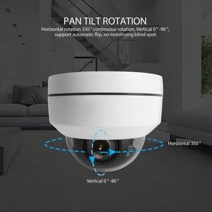 Image 3 - Cámara IP PTZ Speed Dome 1080P, 5MP, Full HD, Onvif, 4X, Zoom, P2P, 40m, IR, visión nocturna, impermeable, P2P, 2MP, domo para exteriores, POE, PTZ