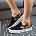 20..Shoes Woman 2016 Canvas Women Shoes Flats 4 Colors Loafers Slip On Women's Flat Shoes  Flower cloth shoes Plus Size 35-39