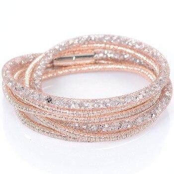 Crystal bracelet διπλό 40 εκ.