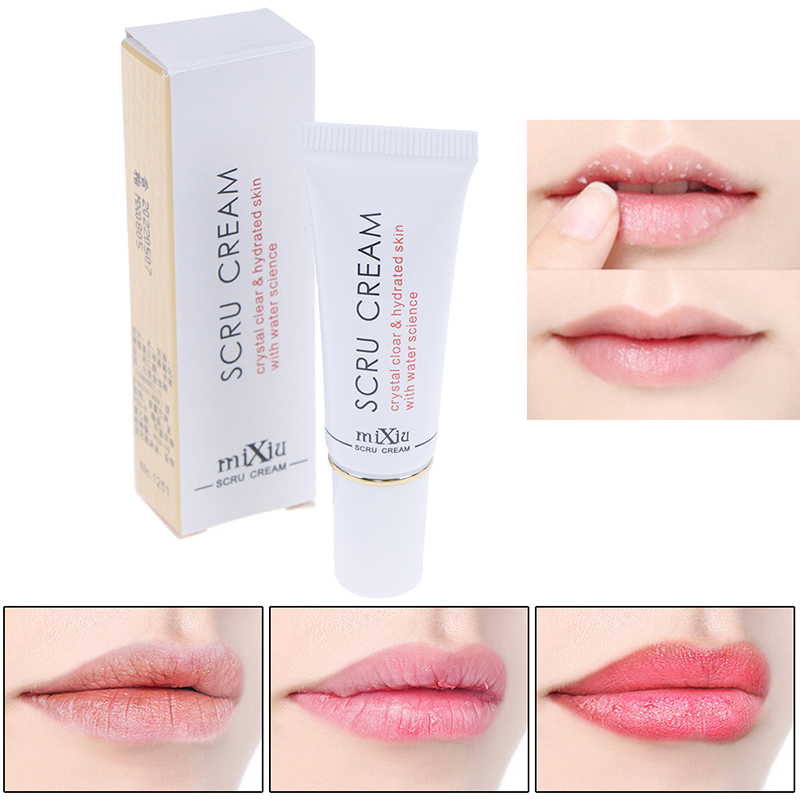 1pc Lips Moisturizing Exfoliating Scru Cream Care Tool Lip Removal Horniness Gel image