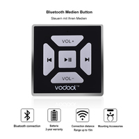 Wireless Bluetooth Media Remote Button Steering Wheel Remote Control For Car Motorcycle Bike Handlebar High Quality