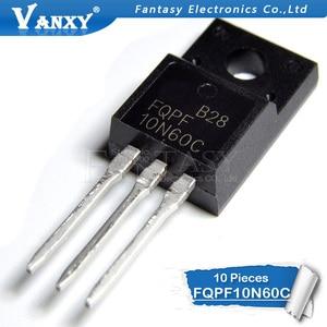 Image 2 - 10PCS FQPF10N60C TO 220 10N60C 10N60 TO220 FQPF10N60 new MOS FET transistor