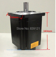 A new three phase 110 stepper motor 110BYG350B motor with long 163mm force distance 12N.m