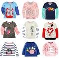 Акции cotton2015Retail бренд девушка и мальчик футболки девушки парни верхний одежда с все для детской одежды andaccessories