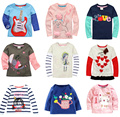 Promotions cotton2015Retail Brand Girl And Boy T-shirts Girls Boys top Clothing Long  All For Children's Clothing andaccessories