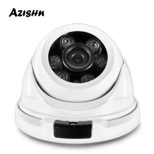 Image 1 - AZISHN معدن H.265 5MP 2592*1944 كامل HD الأمن IP كاميرا Hi3516EV300 onvif IP66 RTSP P2P شبكة مقاوم للماء كاميرا تلفزيونات الدوائر المغلقة
