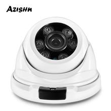 AZISHN métal H.265 5MP 2592*1944 caméra IP de sécurité FULL HD Hi3516EV300 onvif IP66 RTSP P2P caméra de vidéosurveillance réseau étanche