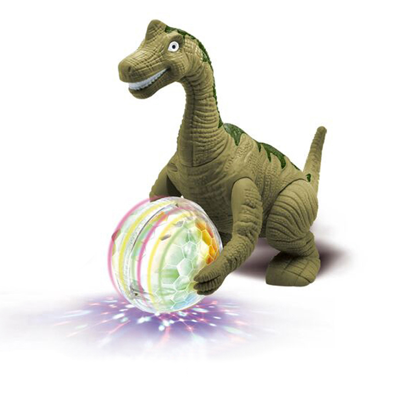 Electronic Pets Interactive Toy Children Simulation Triceratops Animal Model Can Walk Dance Light Vocal Toys For Children