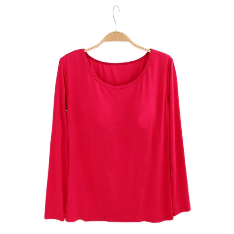 Modal Spring Cozy Sleep Tops Women Nightgowns Long-Sleeved Sleeping Clothes Women Casual Sleep Wear Plus Size