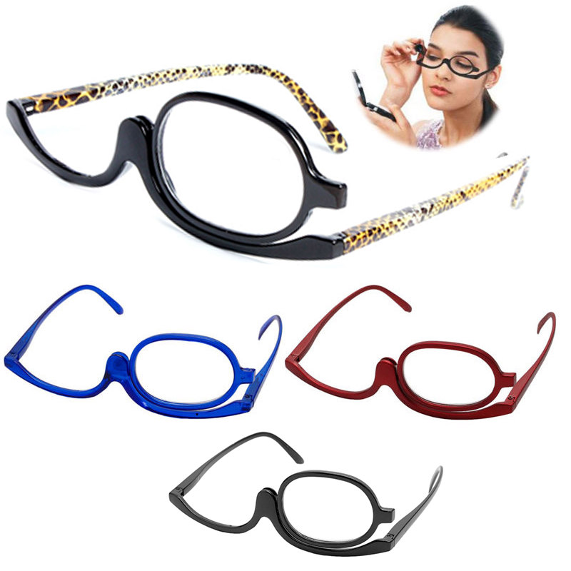 Women's Reading Glasses 1.0~+4.0 Resin Lens Mayitr 1pc Women Folding Eye Make Up Reading Glass 3 Colors Magnifying Makeup Reading Glasses Pc Frame Apparel Accessories
