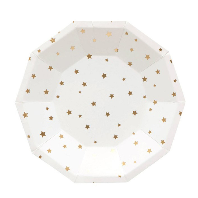 Wedding Engagement Party Paper Plates Silver Gold Stars Dinner Party Supplies Disposable Paper Plates  sc 1 st  AliExpress.com & Wedding Engagement Party Paper Plates Silver Gold Stars Dinner Party ...