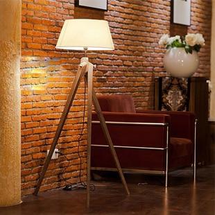 European minimalist modern design twist wooden tripod floor lamp european minimalist modern design twist wooden tripod floor lamp villa dining living room lamps lighting study aloadofball Choice Image