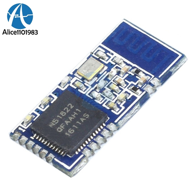 nRF51822-04 Mini AT Command BLE 4.0 WIFI Wireless Bluetooth Module TTL UART Interface Slave Low Power Consumption 3.3V