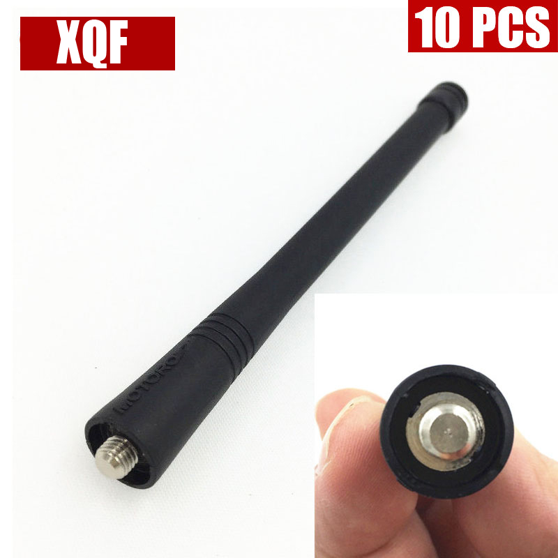 XQF 10PCS  Antenna For MOTOROLA CP185 CP200 EX500 EX600 PTX760 PTX700 GP300 GP320 TWO WAY RADIO