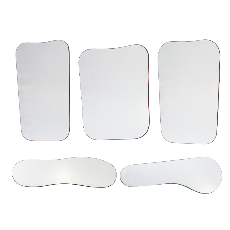 5pcs Dental Orthodontic Intraoral Photographic 2sided Rhodium Glass Mirrors orthodontic dental clinic stainless steel photography mirrors