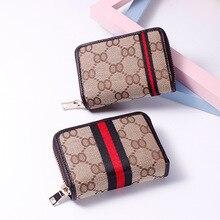 Купить с кэшбэком Ribbon card holder women's multi-card Korean zipper coin purse card holder coin purse women wallets