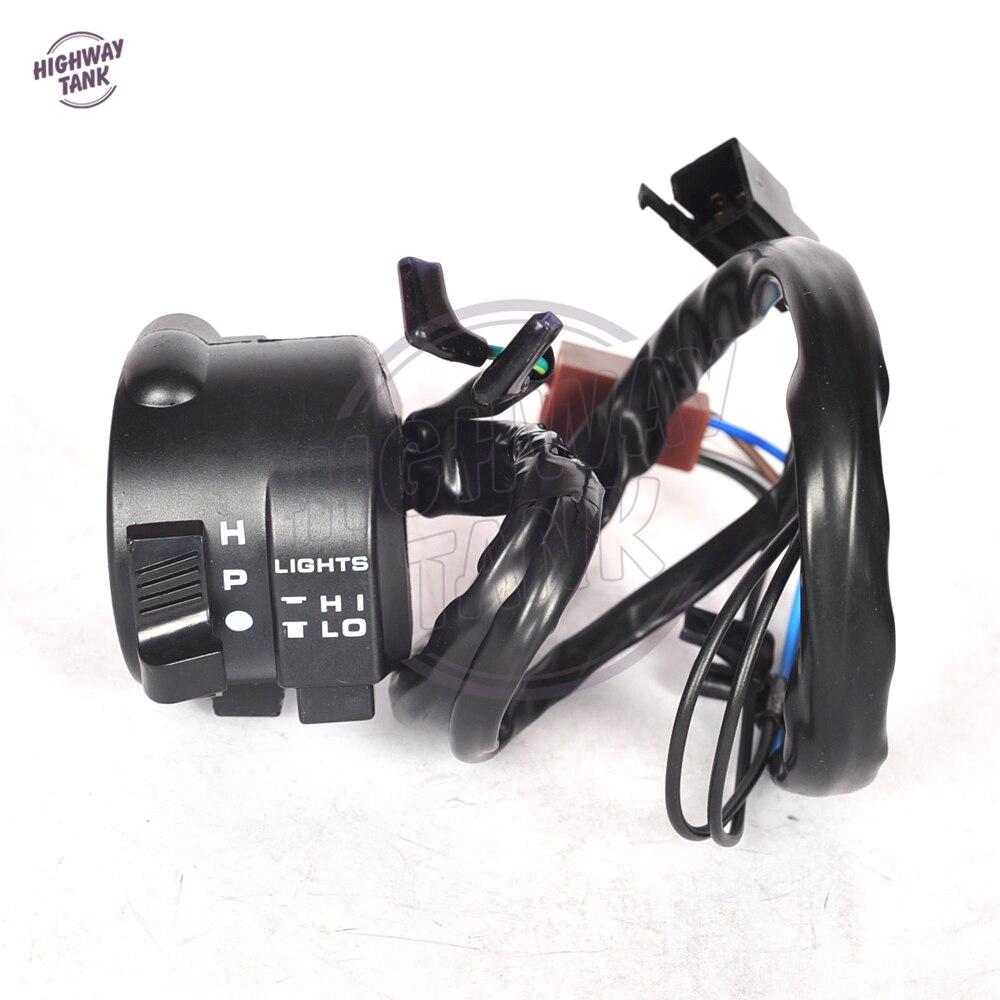 МОТОЦИКЛ ABS левой переключатель поворота и пуговицы Управление чехол для Honda CBR250 CBR400 VFR400