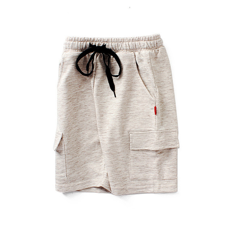 VIDMID chidren's clothes boys shorts solid thin cotton baby boy beach shorts for kids big boys casual trousers 4102 09 3