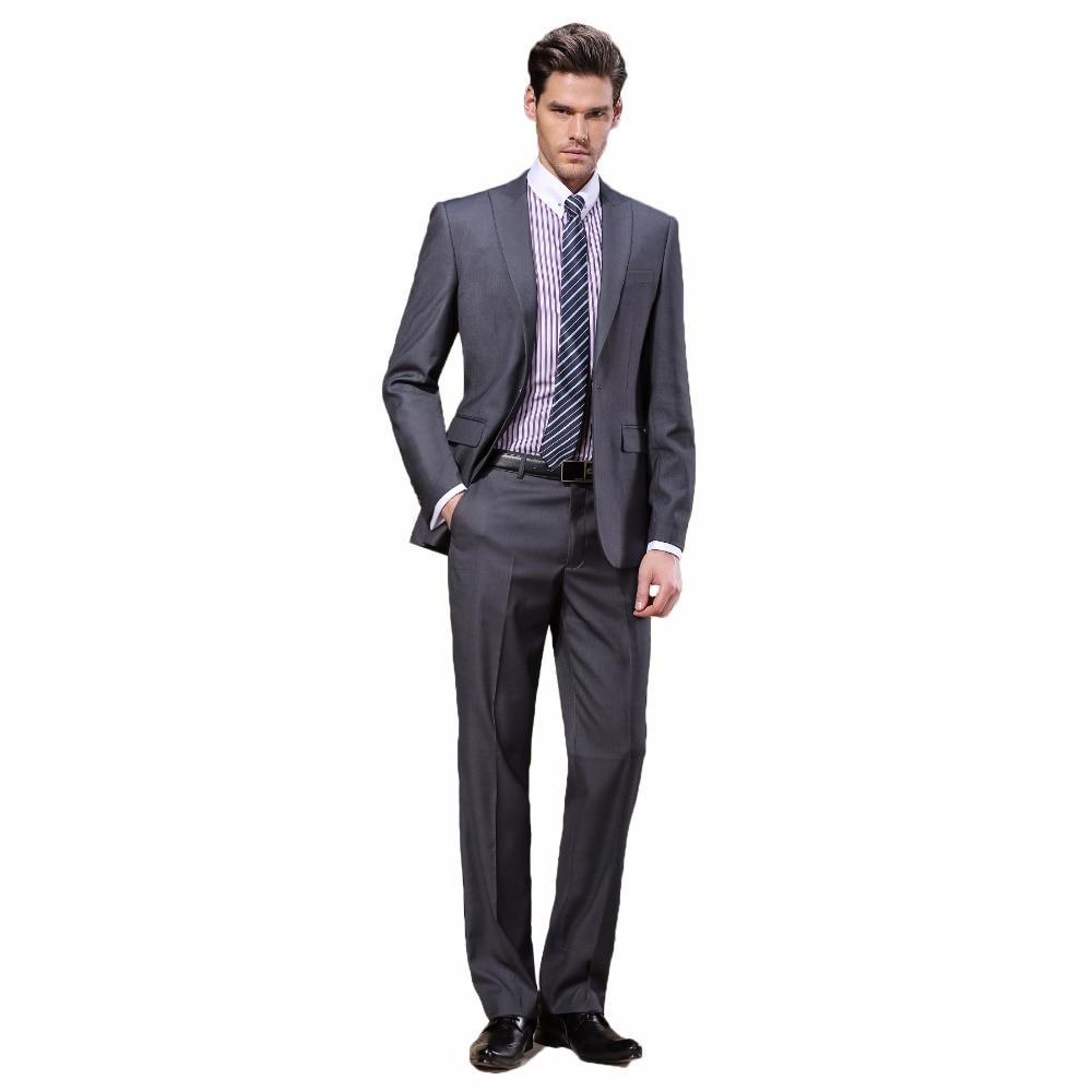 Marca DARO Moda Trajes de hombre Nueva llegada Slim Blazer traje de - Ropa de hombre