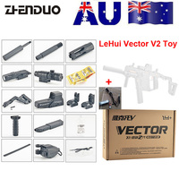ZhenDuo Toys Mag Fed LeHui Vector V2 Electric Gel Ball Blaster Toy Gun For Outdoor Children Child Gifts